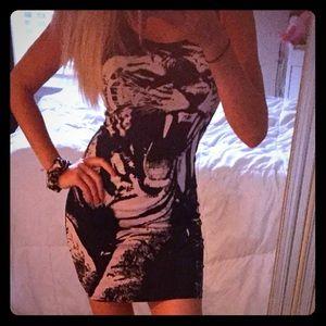 Cotton body on dress